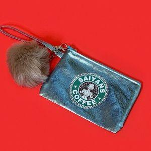 Handbags - Dragon Ball Z Super Saiyon wristlet Starbucks coff